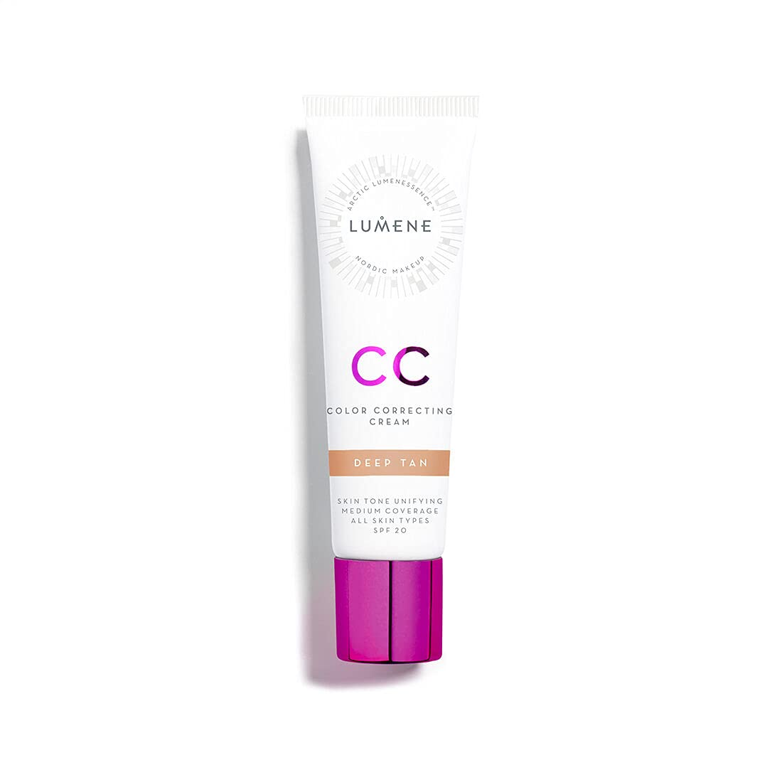 Lumene CC Color Correcting Cream New color Dealing full price reduction infused Pure with Arctic Spring