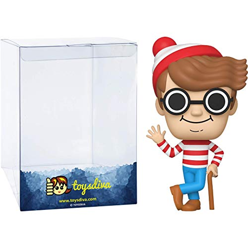 Waldo: Funk o Pop! Books Vinyl Figure Bundle with 1 Compatible 'ToysDiva' Graphic Protector (024 - 41164 - B)
