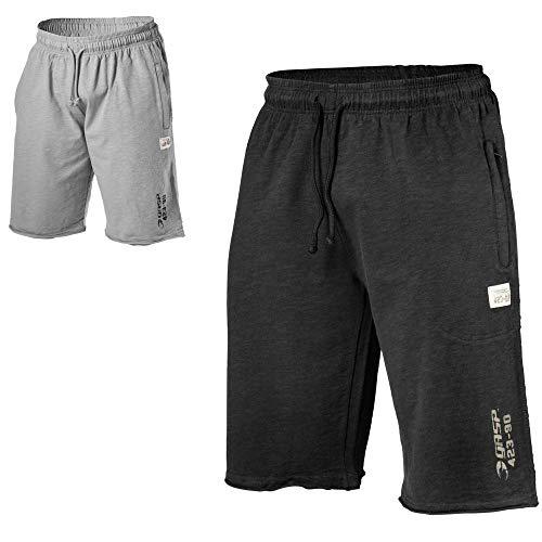 GASP Throwback Mesh Sweatshort, Größe:M, Farbe:grau