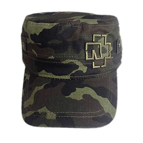 Rammstein Army Cap Outline Logo Camouflage, Offizielles Band Merchandise