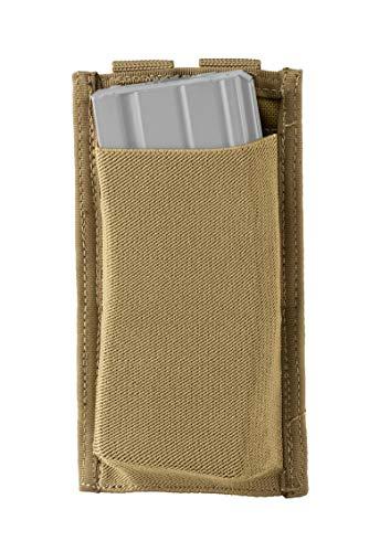 Defcon 5 bolsillos elásticos de bajo perfil para cargador de muelles M4 5.56 individual Coyote Tan D5-M4LPSP CT