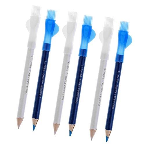6 Stücke Schneider Kennzeichnung Kreide Stift Bleistift Für Nähen Stoff Leder Tuch Handwerk