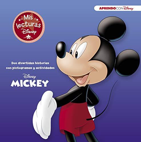 Mickey (Mis lecturas Disney): Dos divertidas historias con pictogramas y actividades