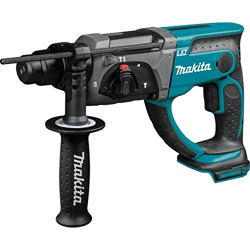 Makita XRH03Z 18V LXT Lithium-Ion Cordless 7/8-Inch Rotary Hammer, accepts SDS‑PLUS bits, Tool Only (Renewed)