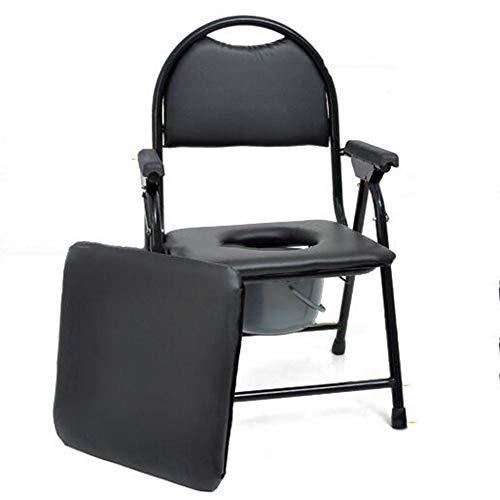 TANGIST Sedia Comoda Comfort Pieghevole Comfort con Sedile da Bagno Imbottito Prevenire Lo Scivolamento