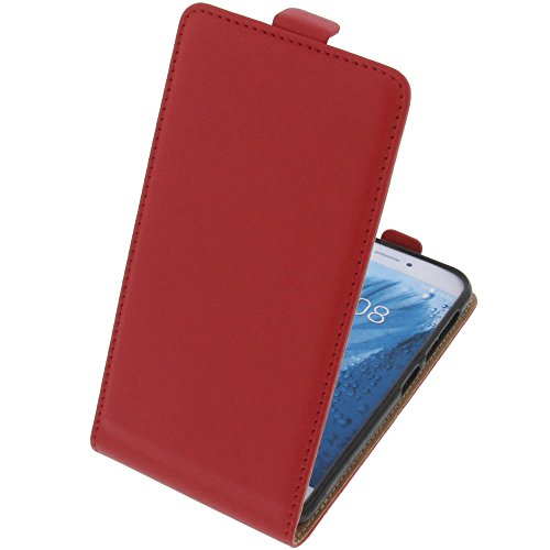 foto-kontor Tasche für ZTE Blade A512 Smartphone Flipstyle Schutz Hülle rot