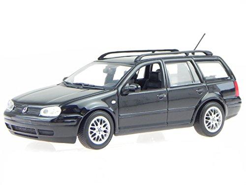 VW Golf 4 Variant schwarz Modellauto Minichamps 1:43