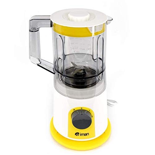 EVER MALL Multifunctional Smoothie Blender Commercial Professional Portable Mini Juicer Smoothie Maker Household Small Juice Extractor