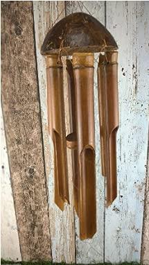 QYLPNB Tubos de bambú campanillas de viento, para colgar en interiores y exteriores, patio, jardín, decoración de fiestas, romántica de buena suerte campanilla regalos para mamá esposa