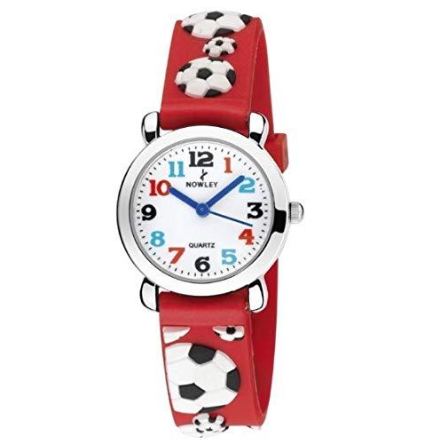 Reloj Infantil nowley Caja de Acero Correa Caucho