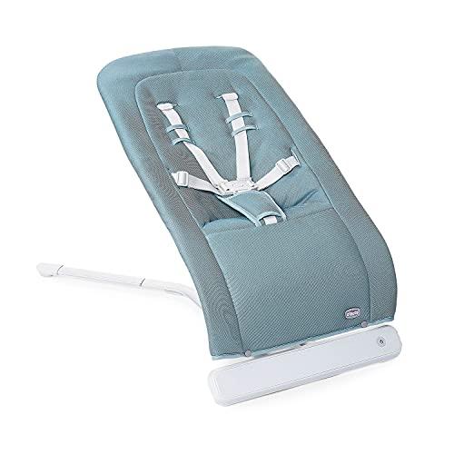 Chicco Rhythm'n'Sound Elektronische Babywippe für Babys von Geburt bis 9 kg, Babyschaukel mit Naturgeräuschen und Schlafliedern, Automatische Babywippe, Verstellbare Rückenlehne