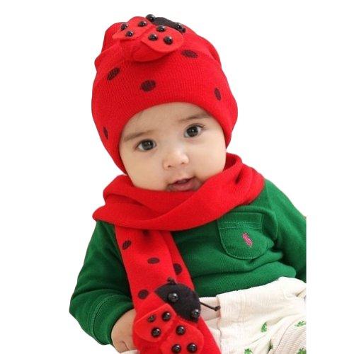 Locomo Baby Infant Ladybug Beanie H…