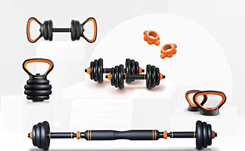Eazylyfe Dumbbells,Dumbbells Set,Adjustable Dumbbells,Barbell Weight Set,Exercise & Fitness Dumbbells,Adjustable Dumbbells Set of 2 (44 pounds)