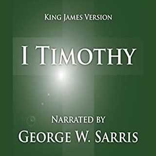 The Holy Bible - KJV: 1 Timothy cover art