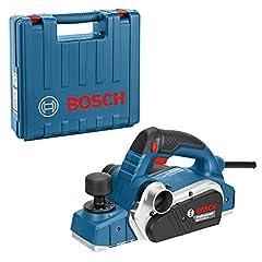 Bosch Professionele handplaner GHO 26-82 D (incl. parallelle stop, hexwry moersleutel SW 2,5, doek stofzak, in koffer)*