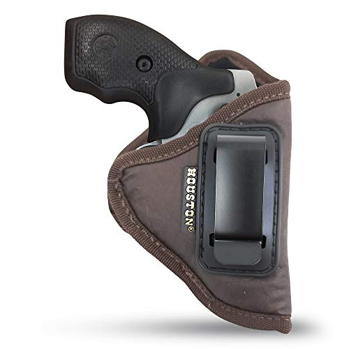 Brown IWB Revolver Holster by Houston - ECO Leather...