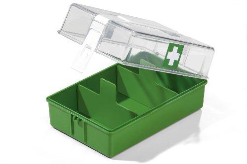 Durable 1809724402 First Aid Case, zonder inhoud, groen/transparant