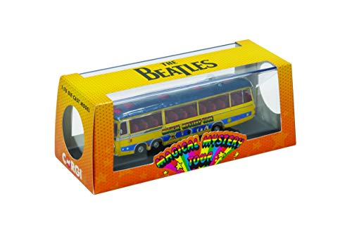Corgi The Beatles Magical Mystery Tour FTB Scale Diecast Display Model CC42418, Yellow/Blue