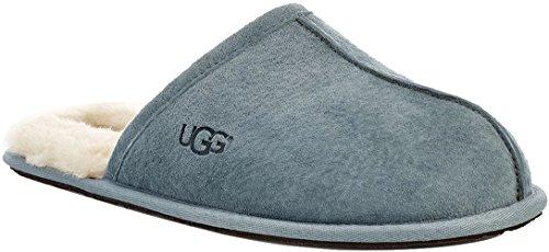 UGG Male Scuff Slipper, Salty Blue, 12 (UK),46(EU) 46 EU
