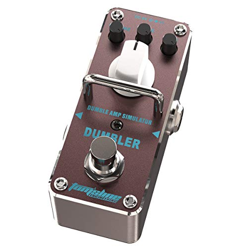 Pedale effetto overdrive DUMBLER ADR-3 Smooth and dynamic overdrive sound close to amp Dumble guitar pedal by Aroma Music brand Tom sline Engineering