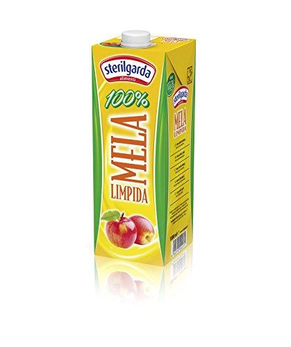 Sterilgarda Succo Mela Limpida - Pacco da 10 x 1000 ml