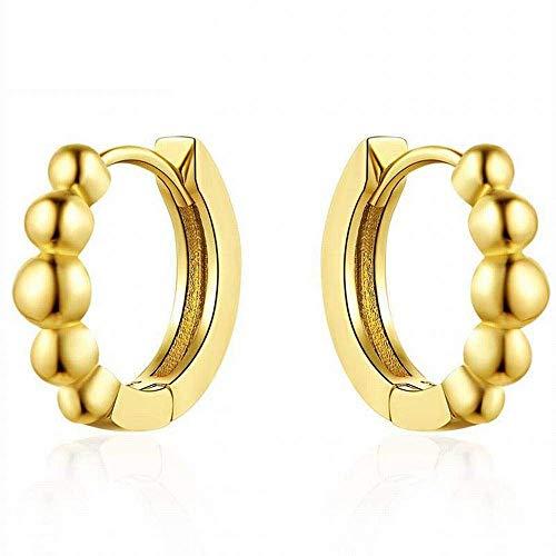 E-H Trend Sieraden Oorbellen 18K Goud Mode Eenvoudige Oorbellen, Rose Goud