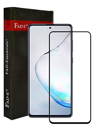 FAD-E Edge to Edge Full Screen Coverage Tempered Glass Protector Guard for Samsung Galaxy A71 / Note 10 Lite (Transparent)