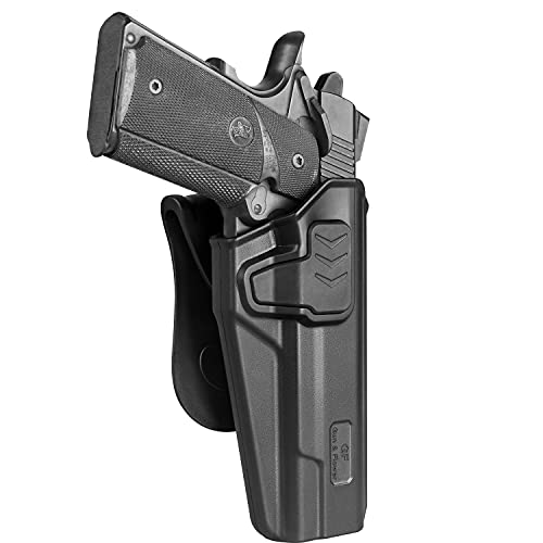 OWB Holster Compatible with 5'' 1911 No Rail, Fits for 1911...