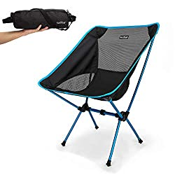 Useful holiday gifts for wildlife and nature photographers - a travel chair