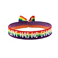 3x Love has no Gender Armband Festival Bändchen CSD Pride Lgbt