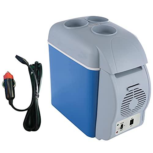 FAMKIT - Frigorifero portatile, 8 Quart, compressore elettrico, mini frigo/congelatore per guida, campeggio, viaggi, pesca, all'aperto e casa