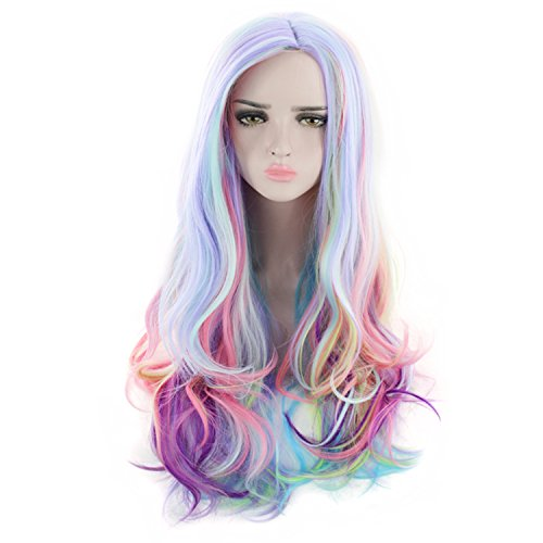 adquirir pelucas arcoiris online