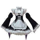Re: Zero Rem Ram Cosplay Maid Costume Lolita Disfraz para Mujeres niñas