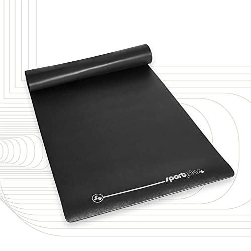 SportPlus Bodenschutzmatte für Heimtrainer, Crosstrainer & Ellipsentrainer, schadstoffgeprüft, strapazierfähig, Maße ca. 170x90x0,6cm (LxBxH)