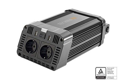 Technaxx Spannungswandler von 12V DC auf 230V AC (TE16)
