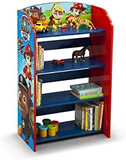 Kids Character 4 Shelf Bookcase, Bookshelf (Paw Patrol)
