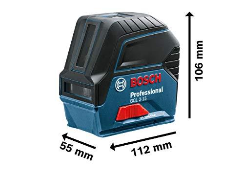 Bosch Professional Kreuzlinienlaser GCL 2-15 - 6