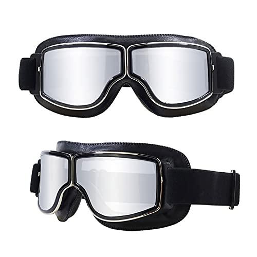 CHQY Gafas de ciclismo para hombre y mujer, 100% protección UV para deportes al aire libre, ciclismo, béisbol, retro, moda B