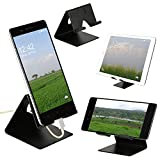 YT Mobile Phone Metal Stand/Holder for Smartphones and Tablet - Black Matt (Proudly Made in India) i phone car holder Jan, 2021