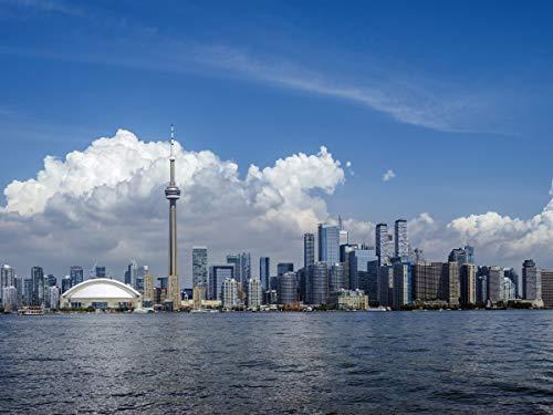 adrium Poster-Bild 80 x 60 cm: Stadtbild von Toronto Ontario, Bild auf Poster