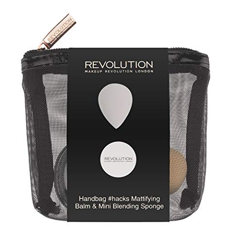 Make-up Revolution Handtas Hacks mat Balm & Mini Mixer Gift Set
