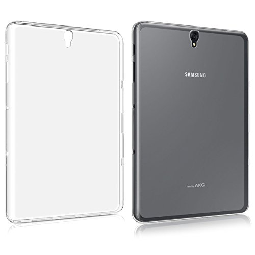CAVOR Galaxy Tab S3 9.7 Inch T825 Clear Case, Ultra-thin SLIM-Fit Silicone Back Cover Clear Plain Soft TPU Gel Rubber Waterproof Protector Shell For Samsung Galaxy Tab S3 9.7 Inch T825