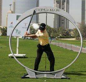 EX BV Explanar Golf Swing Trainer - Home Golf Training System