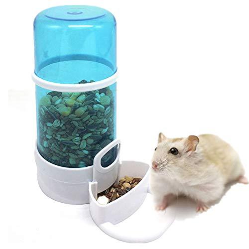 Pet Feeder Voor Hamster Hamster Voedsel Dispensers Huisdier Voerbak Hamster Kooi Kom Rat Voedsel Kom Dierbenodigdheden Kleine Dieren blue