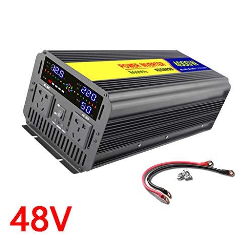 Wechselrichter Sinus 4000W / 5000W / 6000W 12V / 24V / 48V DC Zu 230V / 240V Wechselrichter-Wechselstromsteckdosen Auto-Wechselrichter Und Zwei Lüfter - Nennleistung 2000W / 2500W / 3000W