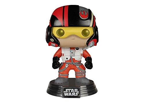 Star Wars- Figura de Vinilo PoE Dameron (Funko 6222)