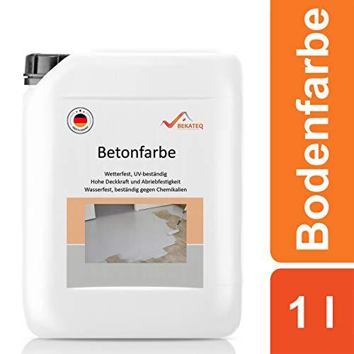 BEKATEQ BE-700 Bodenbeschichtung, 1l Beige, Betonfarbe seidenmatt, für innen und außen …