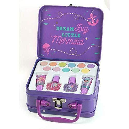 Sirena maleta maquillaje infantil