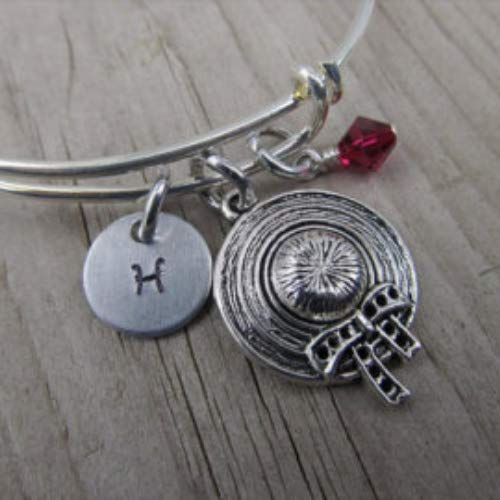 Hand-Stamped Bangle Limited Special Price 25% OFF Bracelet Sun Bonnet your o Charm choice with