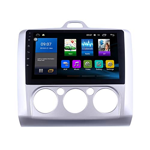 Android 10 autoradio Navigazione per auto headunit Stereo Lettore multimediale GPS Radio IPS 2.5D Touchscreen PerFORD Focus 2004-2011